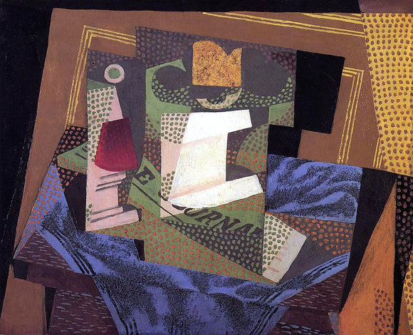 Juan Gris Unknown - Canvas Art Print
