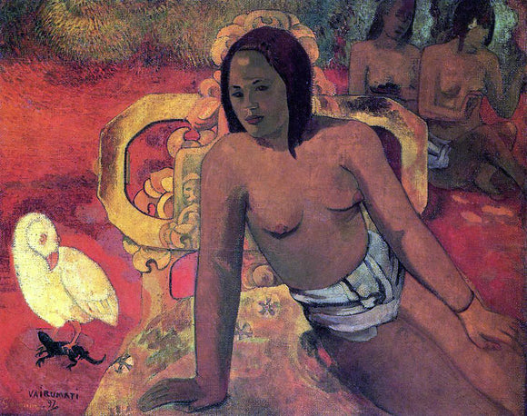 Paul Gauguin Vairumati - Canvas Art Print
