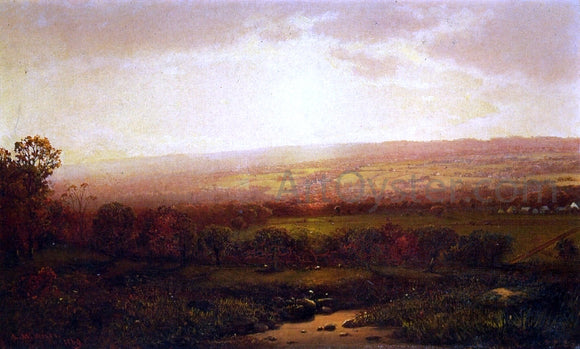 Lemuel M Wiles Valley of the Genesee, From Wadsworth's Lane - Canvas Art Print