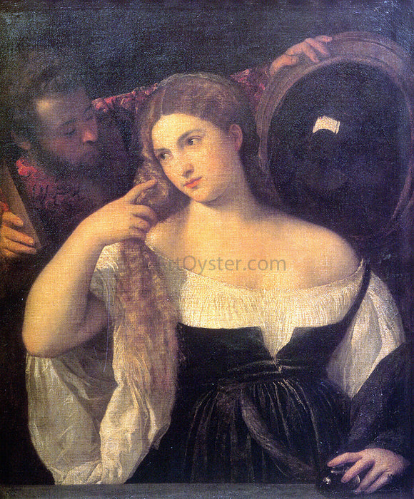 Titian Vanitas - Canvas Art Print