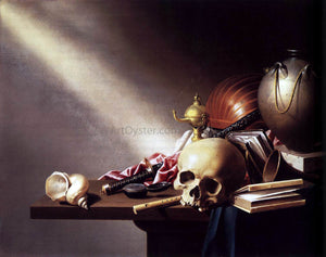 Harmen Steenwijck Vanitas Still-Life - Canvas Art Print