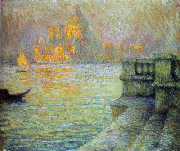 Henri Le Sidaner Venice in the Afternoon - Canvas Art Print