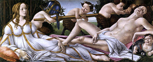 Sandro Botticelli Venus and Mars - Canvas Art Print