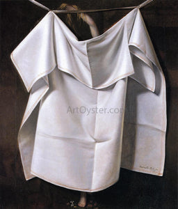 Raphaelle Peale Venus Rising from the Sea - A Deception - Canvas Art Print