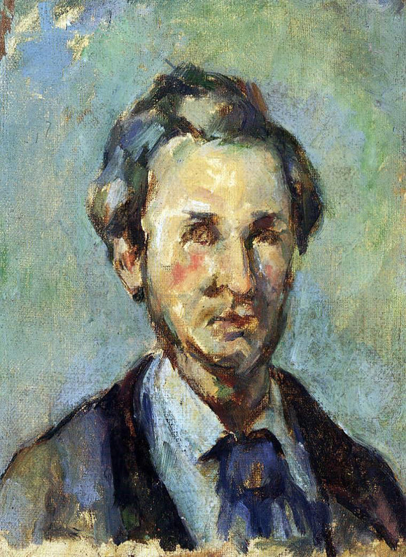 Paul Cezanne Victor Chocquet - Canvas Art Print