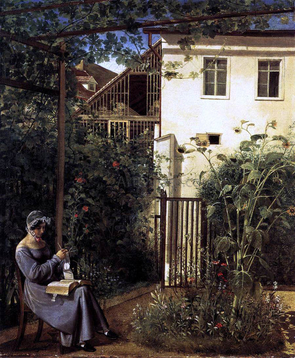 Erasmus Engert Viennese Domestic Garden - Canvas Art Print