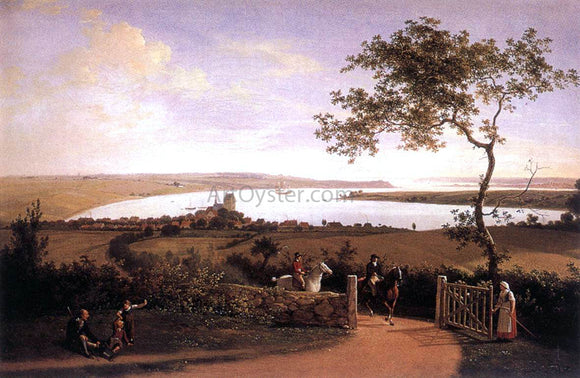 Jens Joergensen Juel View over the Lesser Belt - Canvas Art Print
