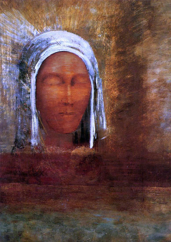 Odilon Redon Virgin of the Dawn - Canvas Art Print