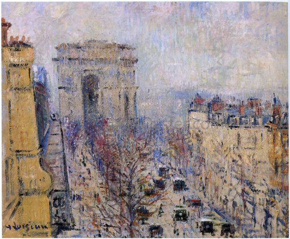 Gustave Loiseau Wagram Avenue - Canvas Art Print