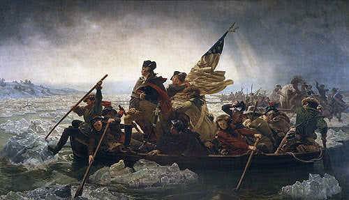 Emanuel Gottlieb Leutze Washington Crossing the Delaware - Canvas Art Print