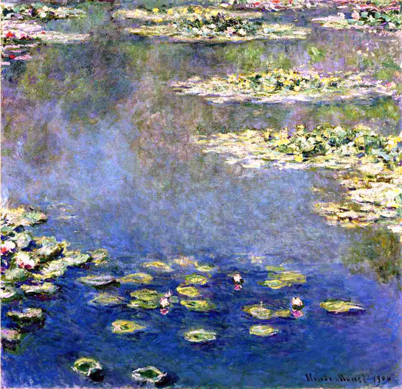 Claude Oscar Monet Water Lilies - Canvas Art Print