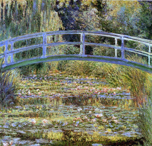 Claude Oscar Monet Water Lily Pond - Canvas Art Print
