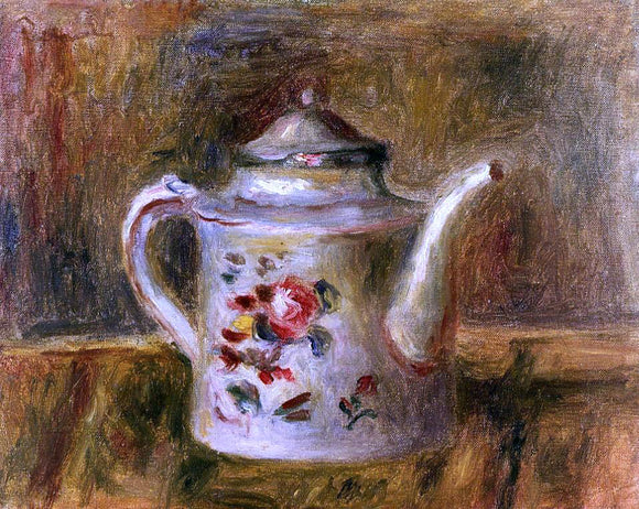 Pierre Auguste Renoir Watering Can - Canvas Art Print