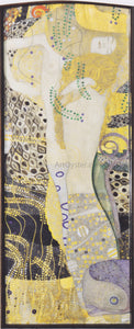 Gustav Klimt Watersnakes - Canvas Art Print
