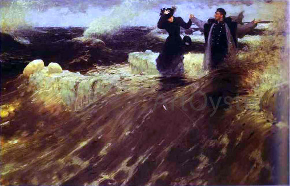 Ilia Efimovich Repin What a Freedom! - Canvas Art Print
