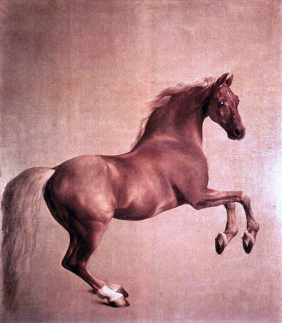 George Stubbs Whistlejacket - Canvas Art Print
