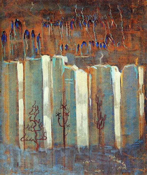 Mikalojus Ciurlionis Winter III - Canvas Art Print