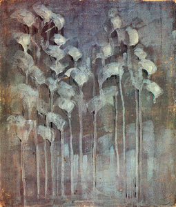 Mikalojus Ciurlionis Winter VI - Canvas Art Print