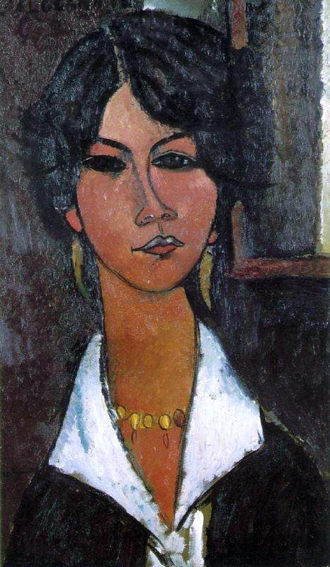 Amedeo Modigliani Woman of Algiers (also known as Almaisa) - Canvas Art Print
