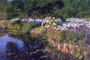Gaines Ruger Donoho Woodhouse Water Garden - Canvas Art Print