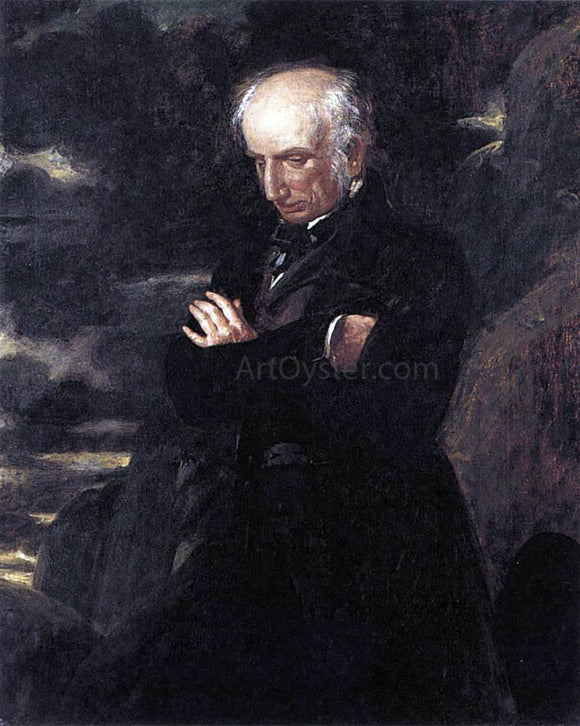 Benjamin Robert Haydon Wordsworth on Helvellyn - Canvas Art Print