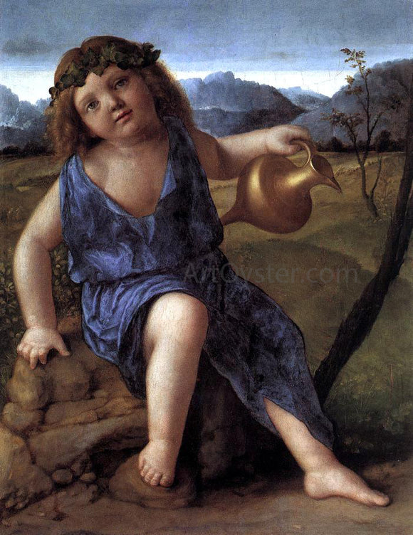 Giovanni Bellini Young Bacchus - Canvas Art Print