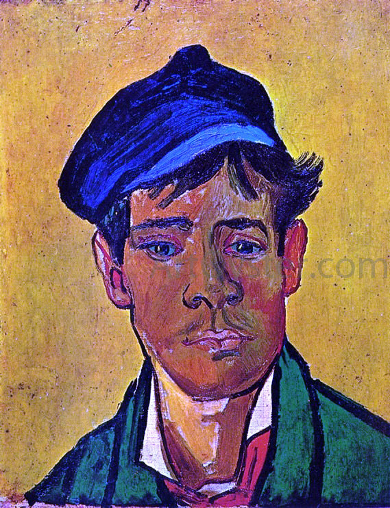 Vincent Van Gogh Young Man with a Cap - Canvas Art Print