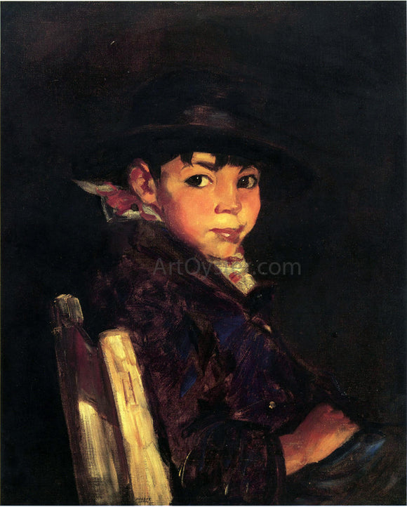 Robert Henri Young Sport - Canvas Art Print
