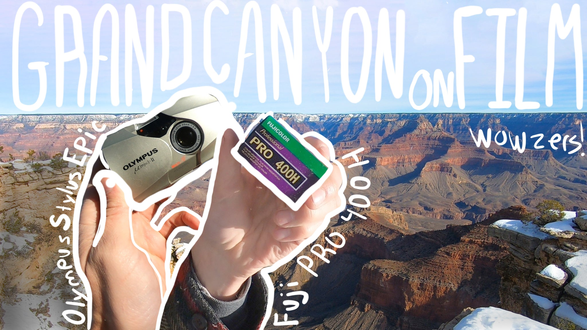 Video: Grand Canyon//Olympus Stylus Epic MJU ii// Fuji Pro 400h