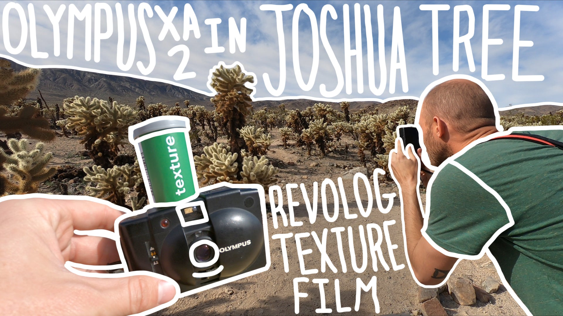 Video: Olympus XA2 in Joshua Tree National Park on Revolog Texture FIlm