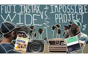 Video: Instax WIde V. Impossible Project Spectra Film