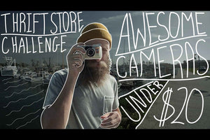 Video: Awesome Cameras Under $20 - Thrift Store Challenge