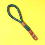 Green Nylon Rope Wrist Strap
