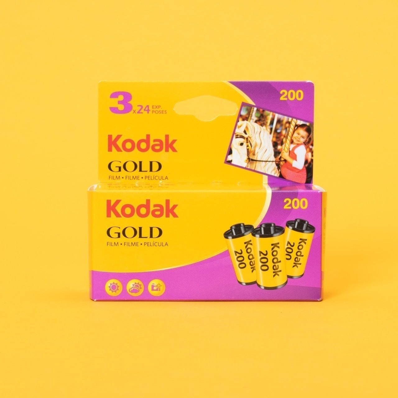 Kodak Gold 200 (3 Pack)