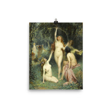 Load image into Gallery viewer, Henri Adrien Tanoux - Nymphs In A Forest