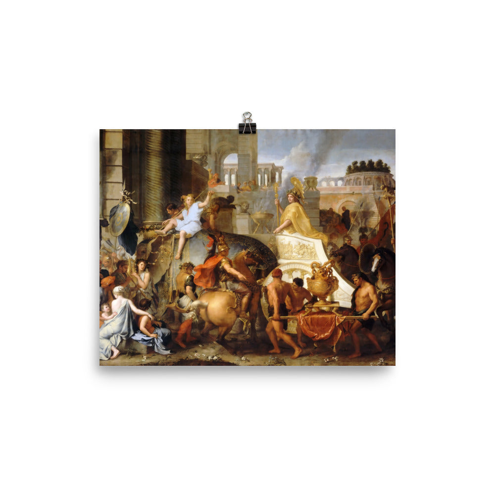 Charles Le Brun - Entry of Alexander into Babylon, or The Triumph of Alexander