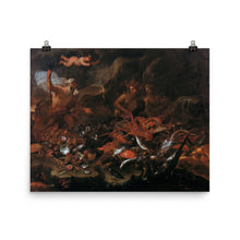 Load image into Gallery viewer, Luca GIORDANO - The riches of the sea with Neptune, tritons and two nereids