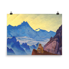 Load image into Gallery viewer, Nicholas Roerich - Milarepa, the One Who Harkened