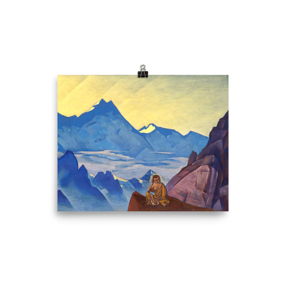 Nicholas Roerich - Milarepa, the One Who Harkened