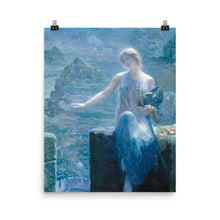 Load image into Gallery viewer, Edward Robert Hughes - The Valkyrie's Vigil