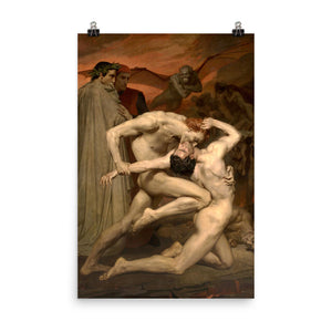 William-Adolphe Bouguereau - Dante and Virgil