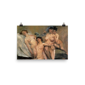 Lovis Corinth - girlfriends