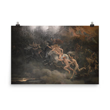 Load image into Gallery viewer, Peter Nicolai Arbo - The Wild Hunt of Odin - painting