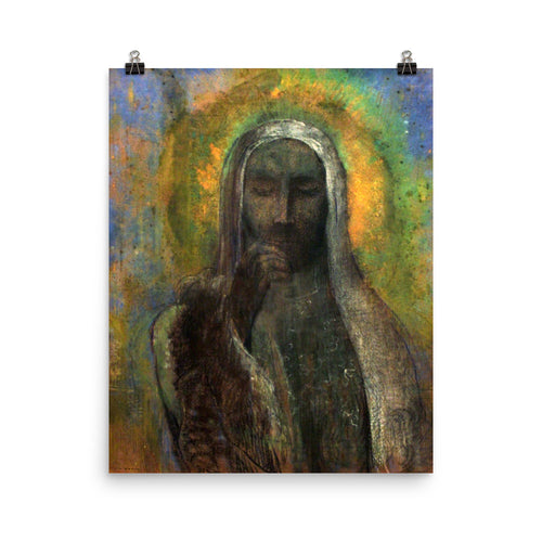 Odilon Redon - The Christ of silence
