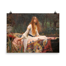 Load image into Gallery viewer, John William Waterhouse - The Lady of Shalott - painting