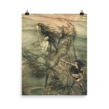 Load image into Gallery viewer, Arthur Rackham - Illustration for Richard Wagner's Ring Cycle (No. 1)