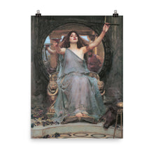 Load image into Gallery viewer, John William Waterhouse - Circe Offering the Cup to Ulysses - painting