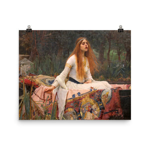 John William Waterhouse - The Lady of Shalott - painting