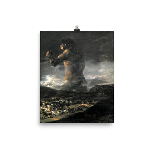 Francisco Goya - The Colossus - painting