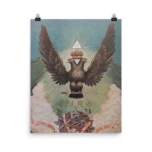 John Augustus Knapp - Double-Headed Eagle (The end product of the Magnum Opus)